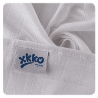 BIO-Baumwolle Windeln XKKO Organic 70x70 Old Times - Pastels For Girls 5er Pack