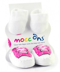 Mocc Ons Hüttenschuhe - Sneakers Pink