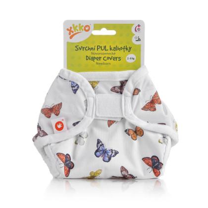 XKKO Überziehhöschen Newborn - Butterflies