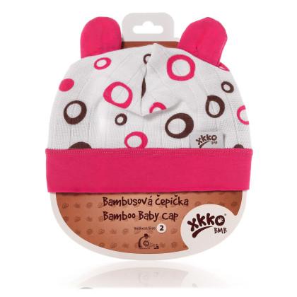 XKKO BMB Kindermütze - Magenta Bubbles