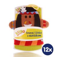 XKKO Waschlappemit Handpuppe (BA) - Indian 12x1St. (GH Packung)