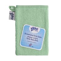 BIO baumwollefrotteewaschlappen XKKO Organic - Mint 1St.