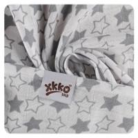 XKKO BMB  Windeltücher 90x100 - Little Stars Silver 1St.