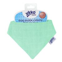 Kinderschal XKKO Organic Old Times - Light Green 3x1St. (GH Packung)