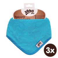 Kinderschal XKKO BMB - Cyan 3x1 St. (GH packung)
