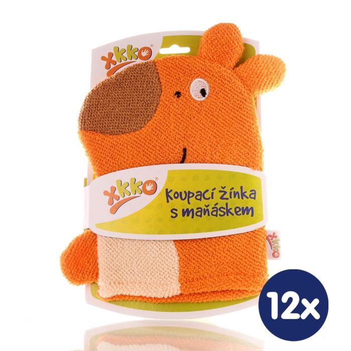 XKKO Waschlappemit Handpuppe (BA) - Koala2 12x1St. (GH Packung)