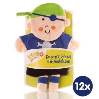 XKKO Waschlappemit Handpuppe (BA) - Pirate Boy 12x1St. (GH Packung)