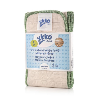 XKKO Organic Old Times Booster - Natural Grosse L 2er Pack