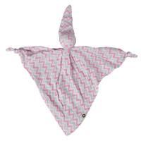 XKKO BMB Bambus-Schnuffeltuch - Baby Pink Chevron 5x1St. (GH Packung)