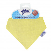 Kinderschal XKKO Organic Old Times - Wax Yellow 1St.