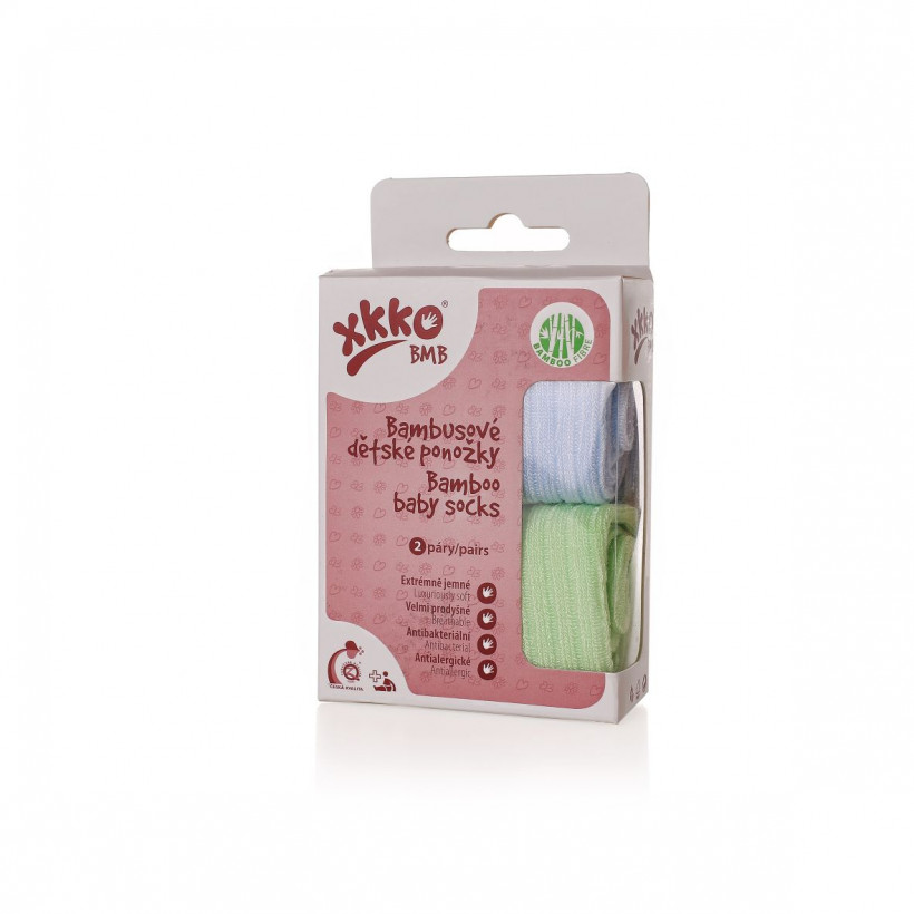 Bambussöckchen XKKO BMB - Pastels For Boys (GH Packung)
