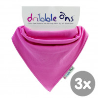 Dribble Ons Classic - Fuchsia 3x1St. (GH Packung)