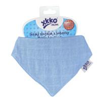 Kinderschal XKKO Organic Old Times - Ocean Blue 3x1St. (GH Packung)