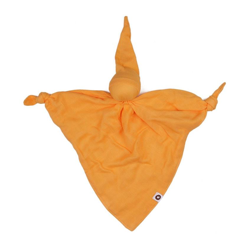 XKKO BMB Bambus-Schnuffeltuch - Orange 5x1St. (GH Packung)