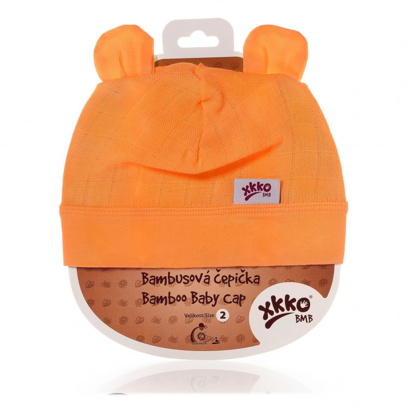 XKKO BMB Kindermütze - Orange 3x1St. (GH Packung)