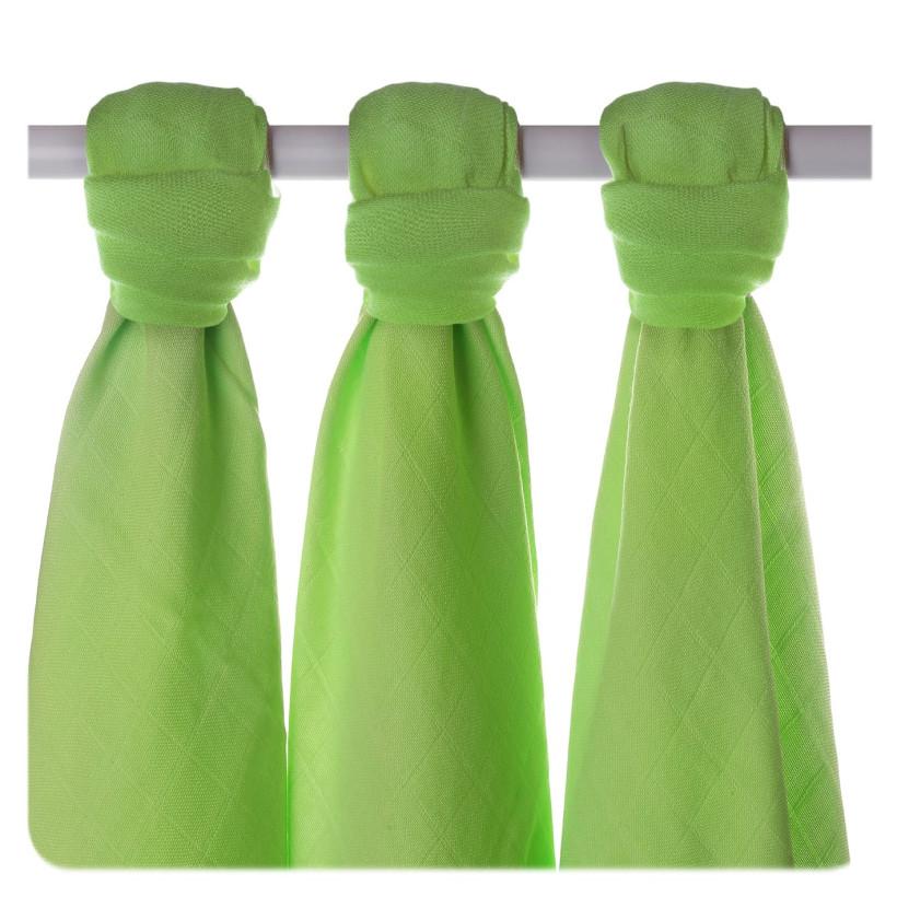 XKKO BMB Musselin Bambuswindeln 70x70 - Lime 10x3er Pack (GH packung)