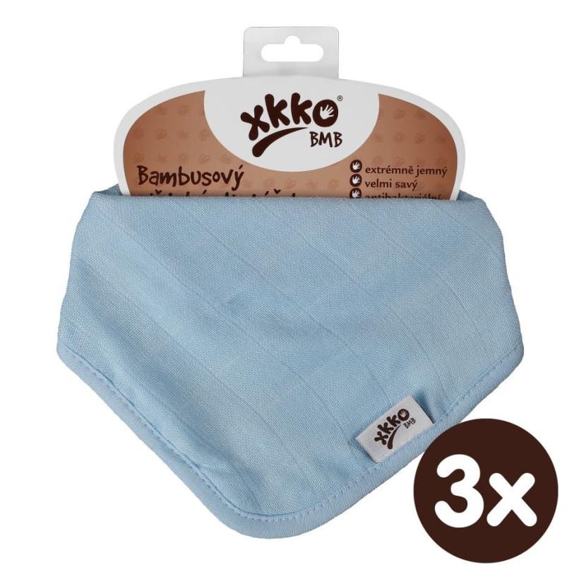Kinderschal XKKO BMB - Baby Blue 3x1 St. (GH packung)