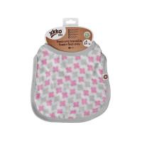 XKKO BMB Kinderlätzchen - Baby Pink Cross 3x1St. (GH Packung)