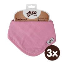 Kinderschal XKKO BMB - Baby Pink 3x1 St. (GH packung)