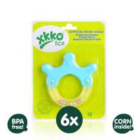 Öko Beißringe XKKO ECO - Hand 6x1St. (GH Packung)