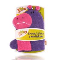 XKKO Waschlappemit Handpuppe (BA) - Hippo