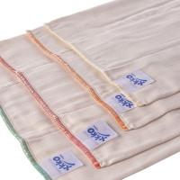 XKKO Organic Faltwindeln (4/8/4) - Premium Natural 6x6er Pack (GH Packung)