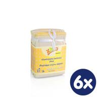 XKKO Classic Faltwindeln (4/8/4) - Newborn Natural 6x6er Pack (GH Packung)