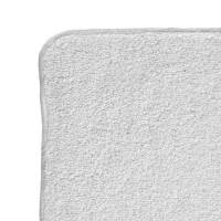 BIO baumwollefrotteetücher XKKO Organic 21x21 - Weiss 6er Pack