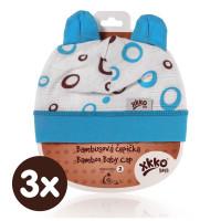 XKKO BMB Kindermütze - Cyan Bubbles 3x1St. (GH Packung)