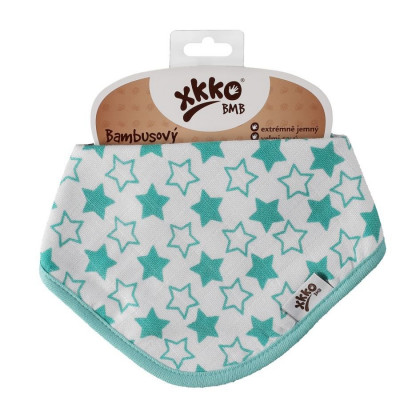 Kinderschal XKKO BMB - Little Stars Turquoise 1St.
