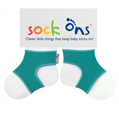 Sock Ons Sockenhalter Bright - Turquoise