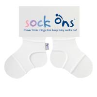 Sock Ons Sockenhalter Classic - White 5x1 Paar (GH Packung)