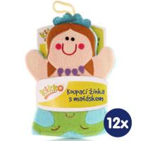 XKKO Waschlappemit Handpuppe (BA) - Mermaid 12x1St. (GH Packung)