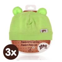 XKKO BMB Kindermütze - Lime 3x1St. (GH Packung)