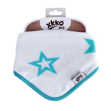 Kinderschal XKKO BMB - Turquoise Stars 1 St.