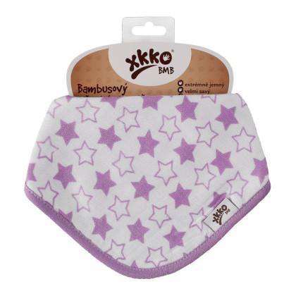 Kinderschal XKKO BMB - Little Stars Lilac 1St.