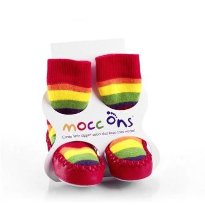 Mocc Ons Hüttenschuhe - Rainbow