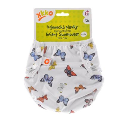 Baby-Badeslip XKKO One Size - Butterflies
