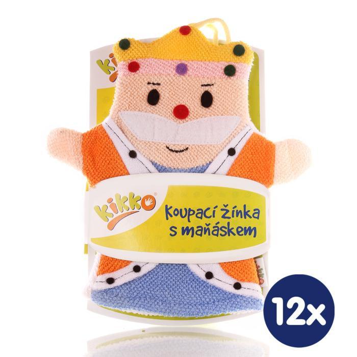 XKKO Waschlappemit Handpuppe (BA) - King 12x1St. (GH Packung)