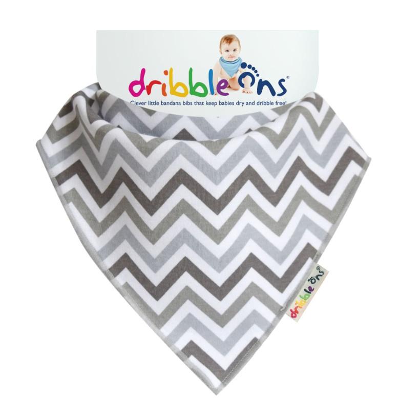 Dribble Ons Designer - Chevron 3x1St. (GH Packung)