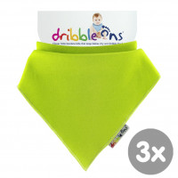Dribble Ons Bright - Lime 3x1St. (GH Packung)