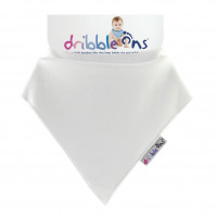 Dribble Ons Classic - White 3x1St. (GH Packung)