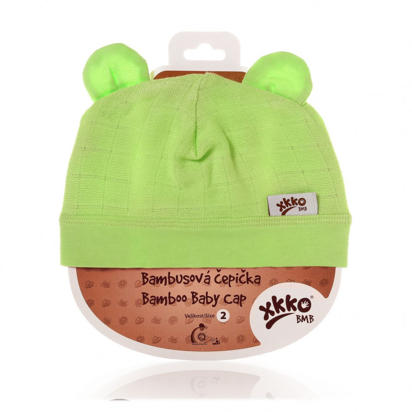 XKKO BMB Kindermütze - Lime
