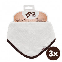 Kinderschal XKKO BMB - Natural 3x1 St. (GH packung)