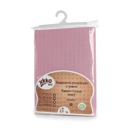XKKO BMB 120x60 Babymatratzen Spannbezug - Baby Pink