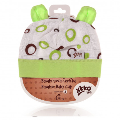 XKKO BMB Kindermütze - Lime Bubbles