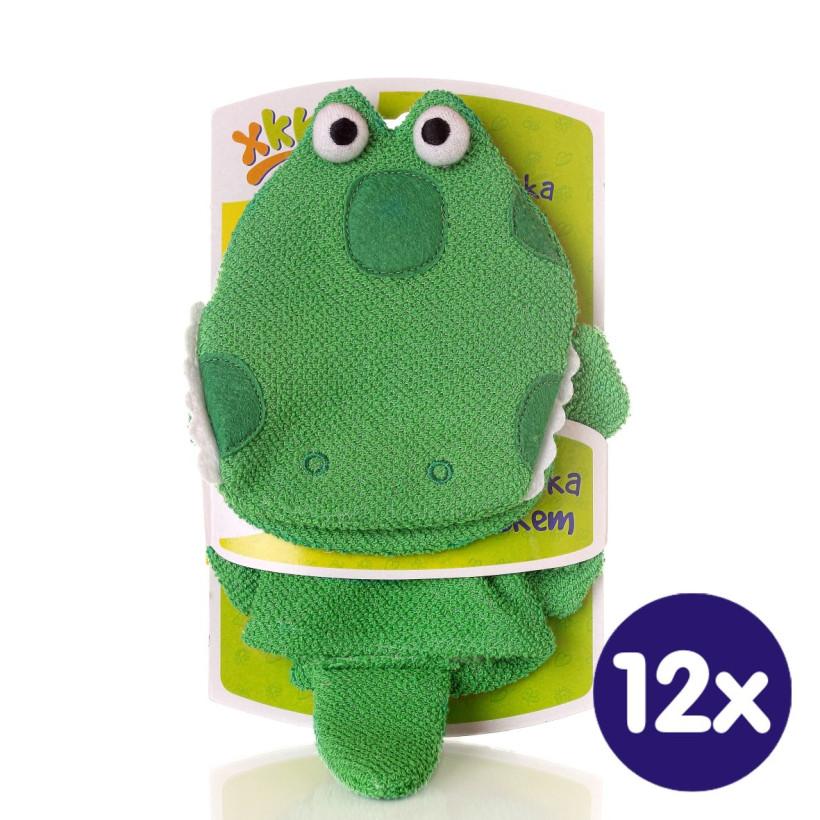 XKKO Waschlappemit Handpuppe (BA) - Dragon 12x1St. (GH Packung)