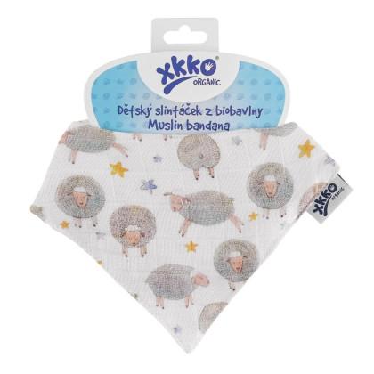 Kinderschal XKKO Organic - Dreamy Sheeps 1St.