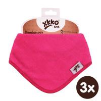 Kinderschal XKKO BMB - Magenta 3x1 St. (GH packung)