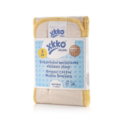 XKKO Organic Old Times Booster - Natural Grosse S 2er Pack
